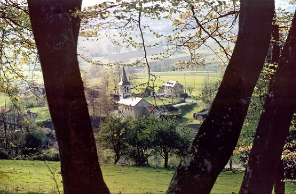 Le village de Montsérié, niché au cœur du territoire de la Neste.