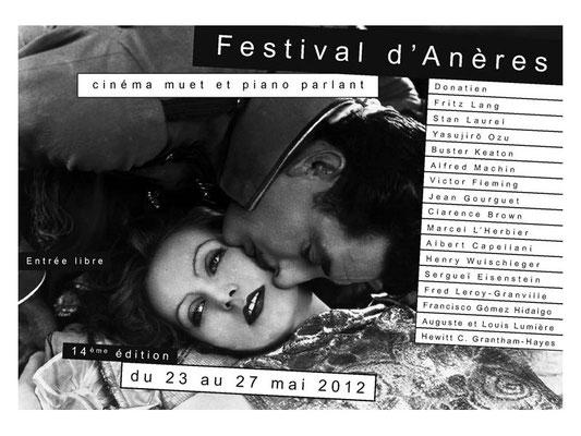 Festival du film muet d'Anères a un succès grandissant et une renommée devenue internationale. Organisation: Association remue-méninges.