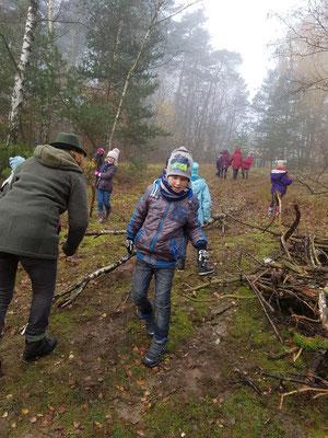 Wir bauen ein Waldsofa