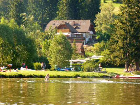 Pension Maurer Packer Stausee