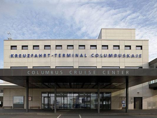 Referenz einer Fassadensanierung in Bremerhaven, Columbus Cruise Center