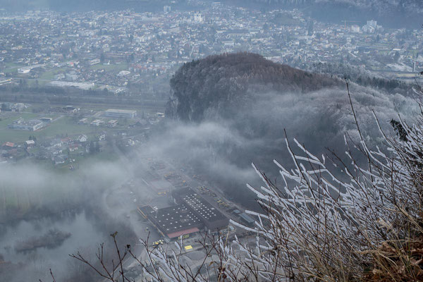 Blick vom Kummaberg auf Götzis