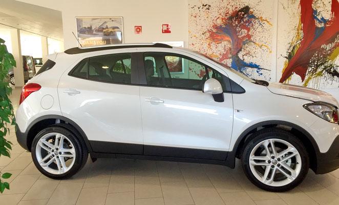 Opel Mokka Seitenansicht