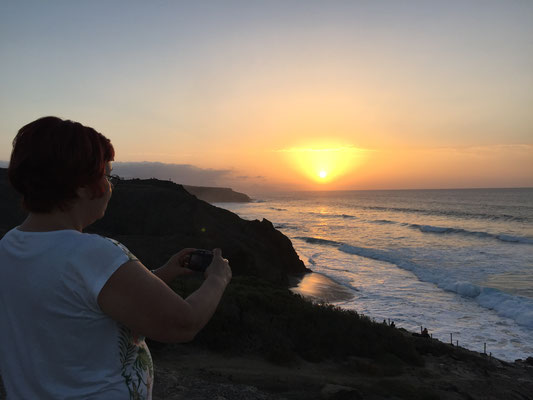 Sonnenuntergang in La Pared