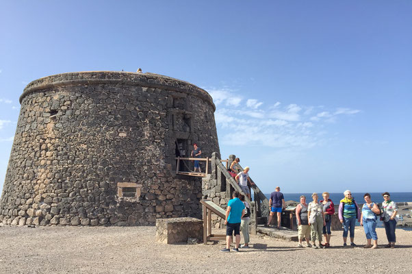 am Castillo de Toston in El Cotillo