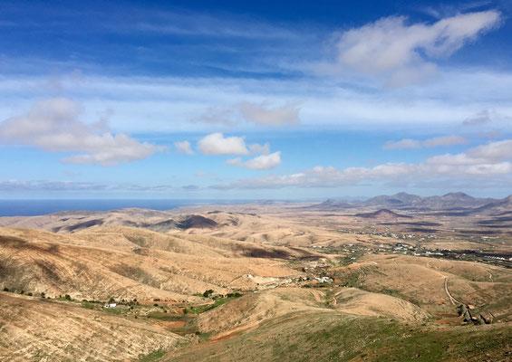 Blick vom Mirador Morro de Velosa