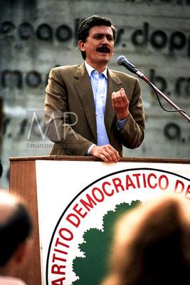 Massimo D'Alema - Campagna elettorale elezioni comunali Grugliasco (To)