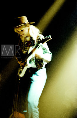 Jennifer Batten - Chitarrista Michael Jackson - Live Torino - Dracma