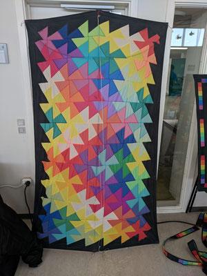 """Das """"Muster"""" für den Workshopdrachen"""