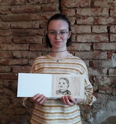 Alena Brunner, ehemalige Teilnehmerin, aus Allentsteig-sie plant zukünftig Restaurierung zu studieren