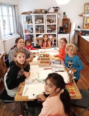 Malakademie Kids, im Schuljahr 2019