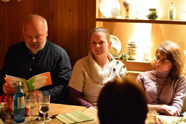 Traditional Irish Christmas Dinner, Alte Mainmühle, 03.12.2013