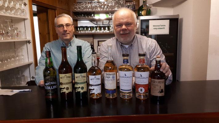 Irische Whiskeyprobe, 22.03.2019