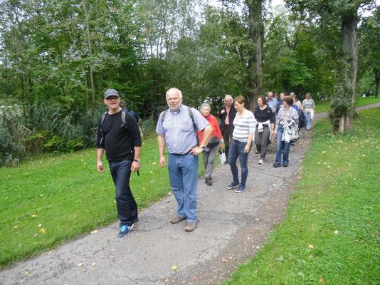 Synge Walk nach Randersacker, 13.09.2014