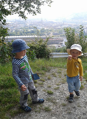 Synge Walk nach Oberdürrbach, 23.09.2017