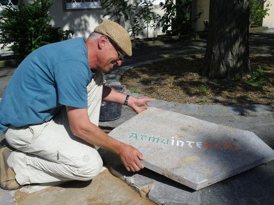 Denkmal der Versöhnung, 08.07.2013 (Bildhauer Thomas Reuter)