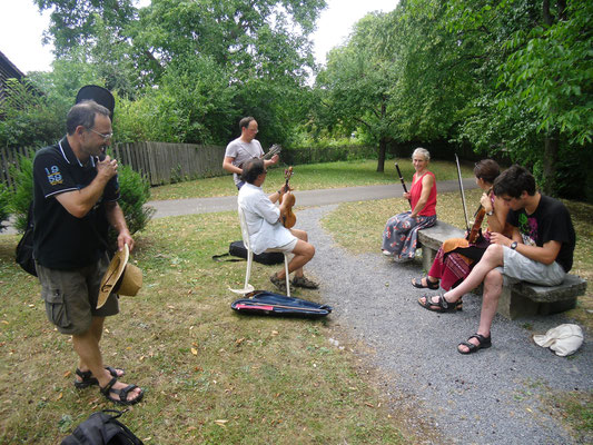 Picknick im Wicklow Garden, 19.07.2015