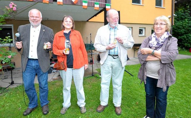 Jubiläumsfest, 02.07.2016: Gründungsmitglieder