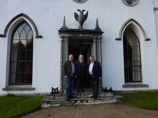 Irlandreise, Luggala, 31.10.2013 (Matthias Fleckenstein, Garech Browne, George Jones)