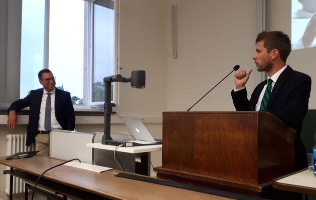 Kiliani Lecture, 28.06.2018 (Prof. Dr. Martin Stuflesser, Dr. Andrew Meszaros)