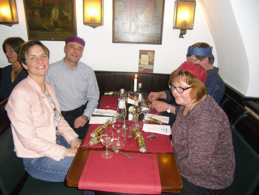 Irish Christmas Dinner, Bürgerspital, 27.11.2015