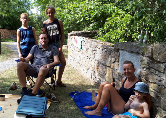 Picknick im Wicklow Garden, 15.07.2018
