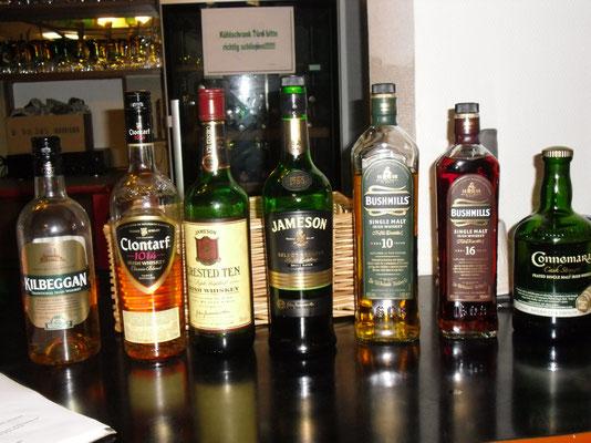 Irische Whiskeyprobe, 21.03.2014
