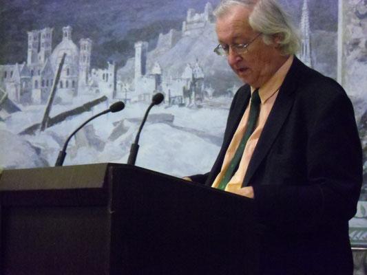 """Vortrag """"Iren in Europa"""", Prof. Ernst Burgschmidt, 03.06.2013"""