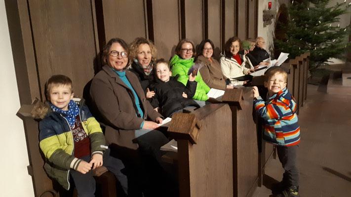 Offenes Weihnachtssingen - Chor der DIG, 22.12.2019
