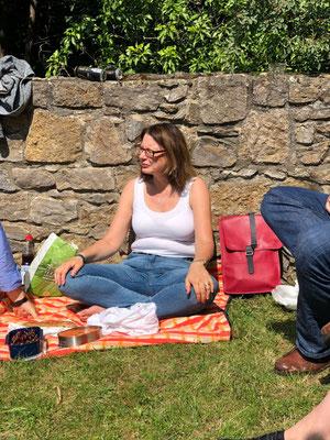 Picknick im Wicklow Garden, 14.07.2019