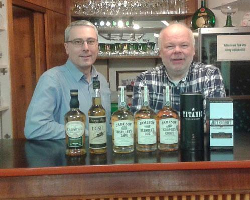 Irische Whiskeyprobe, 09.03.2018