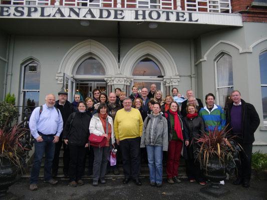 Irlandreise, Hotel Esplanade, Bray, 03.11.2013