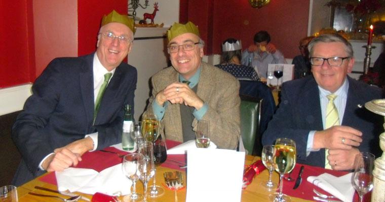Traditional Irish Christmas Dinner, Bürgerspital, 01.12.2017 (Botschafter Michael Collins, Kulturreferent Muchtar Al Ghusain)