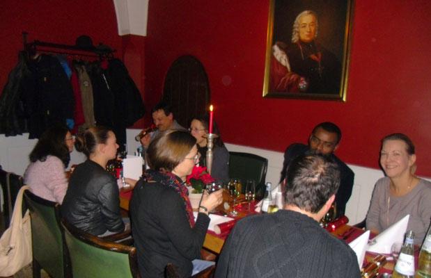 Traditional Irish Christmas Dinner, Bürgerspital, 01.12.2017