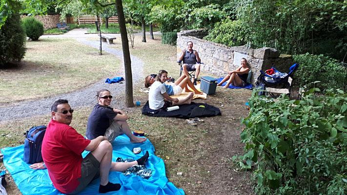Picknick im Wicklow Garden, 15.07.2018