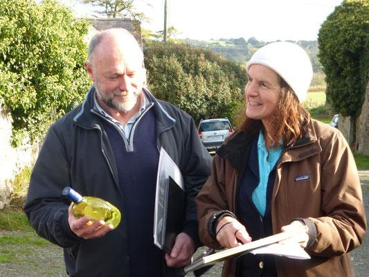 Irlandreise, Bellevue, 31.10.2013 (James und Linda Fortune)