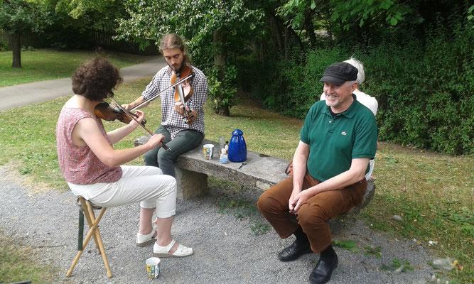 Picknick im Wicklow Garden, 17.07.2016