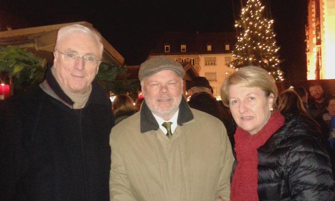 Weihnachtsmarkteröffnung mit Botschafter Michael Collins und seiner Frau Marie, 25.11.2016