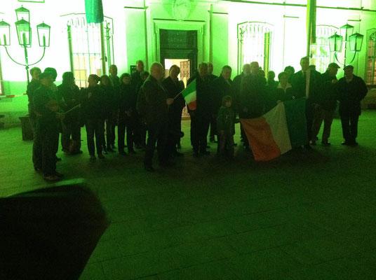 St. Patrick's Day, Rathaus, 17.03.2014
