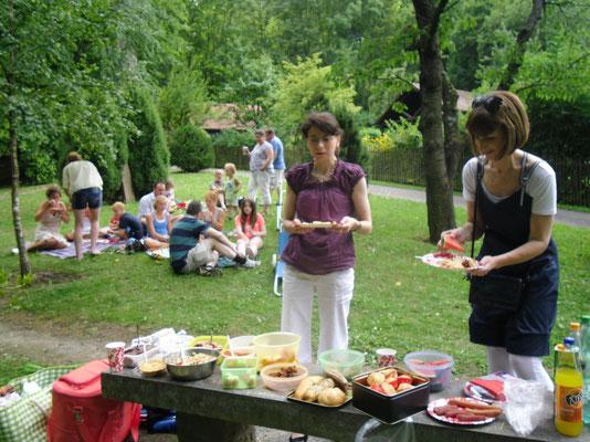 Picknick im Wicklow Garden, 20.07.2014