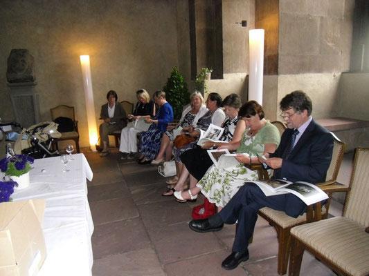 Empfang für die irischen Gäste im Wenzelsaal, 04.07.2013