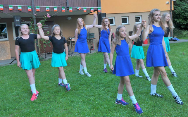 Jubiläumsfest, 02.07.2016: Celtic Cross School of Irish Dancing