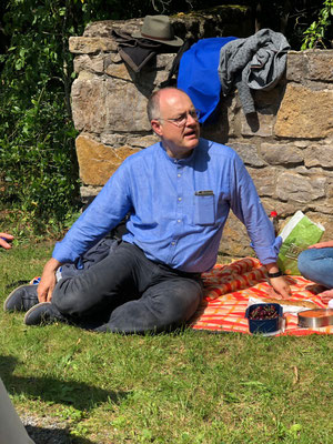 Picknick im Wicklow Garden, 14.07.2019