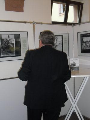 Ausstellungseröffnung J.M. Synge, 03.09.2014