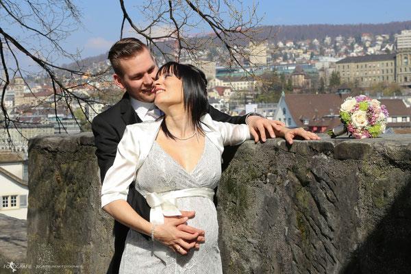 Brautpaar Fotoshooting in Zürich