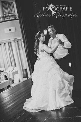 Tanz mit Brautvater, Festlocation
