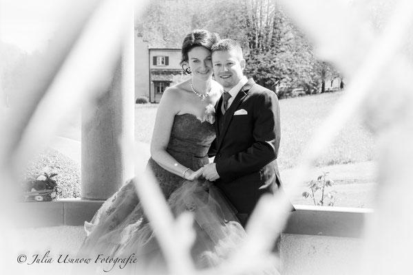 Brautpaarshooting Schlossgarten, Seeburg