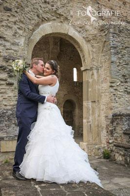 Brautpaarshooting,  Klosterruinen Rüeggisberg