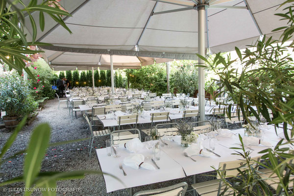 Hochzeitslocation in Bern an der Aare, Restaurant Dampfzentrale