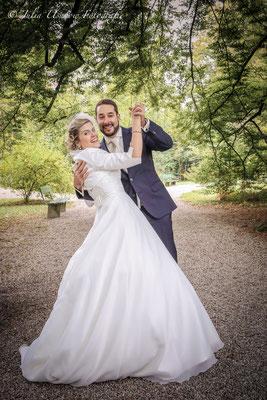 Hochzeitstanz im Schlossgarten, Schloss Landshut